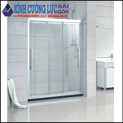 Phòng tắm kính mở 2 chiều